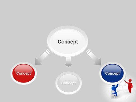 Teacher Question PowerPoint Template, Slide 4, 10808, Education & Training — PoweredTemplate.com
