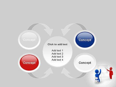 Teacher Question PowerPoint Template Slide 6