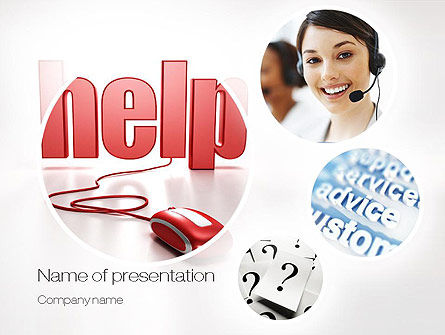 Virtual Receptionist PowerPoint Template