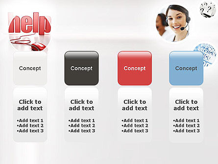 Virtual Receptionist PowerPoint Template Slide 5