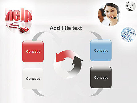 Virtual Receptionist PowerPoint Template Slide 6