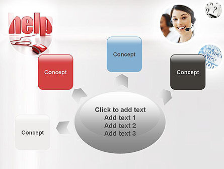 Virtual Receptionist PowerPoint Template Slide 7