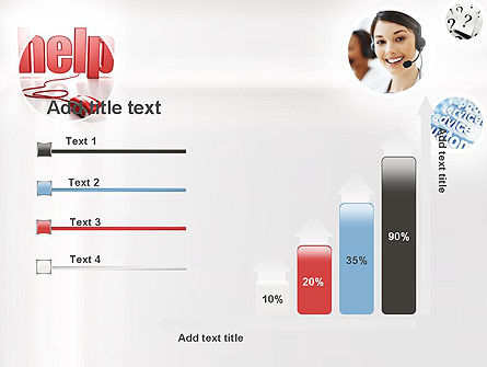 Virtual Receptionist PowerPoint Template Slide 8