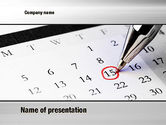 Financial/Accounting: Tax Time PowerPoint Template #10811