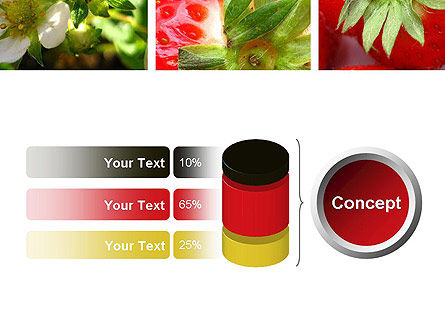 Strawberries Collage PowerPoint Template Slide 11