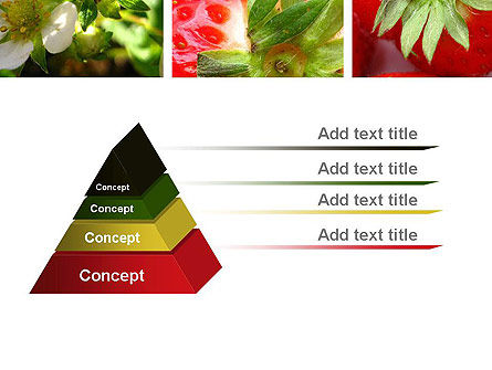 Strawberries Collage PowerPoint Template Slide 12