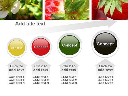 Strawberries Collage PowerPoint Template Slide 13