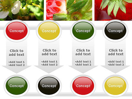 Strawberries Collage PowerPoint Template Slide 18