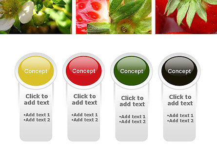 Strawberries Collage PowerPoint Template Slide 5
