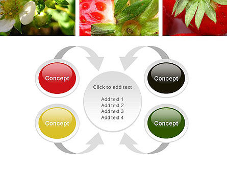 Strawberries Collage PowerPoint Template Slide 6