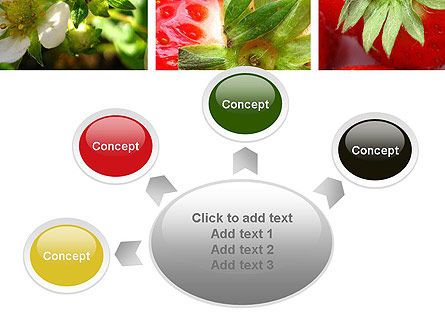 Strawberries Collage PowerPoint Template Slide 7