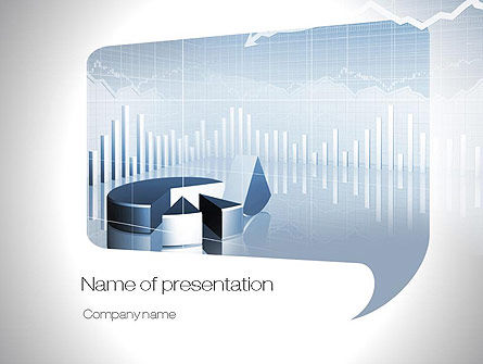 Business Chart PowerPoint Template, 10813, Business — PoweredTemplate.com