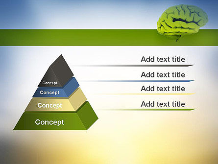 Cerebral Cortex PowerPoint Template Slide 12