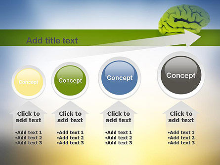 Cerebral Cortex PowerPoint Template Slide 13