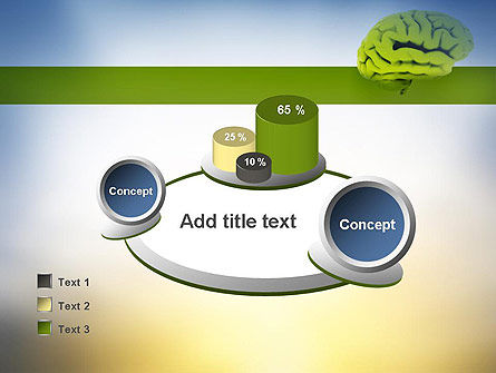 Cerebral Cortex PowerPoint Template Slide 16