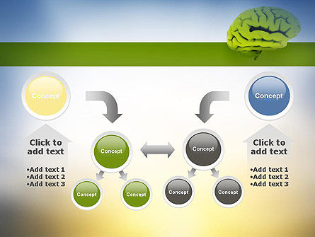 Cerebral Cortex PowerPoint Template Slide 19