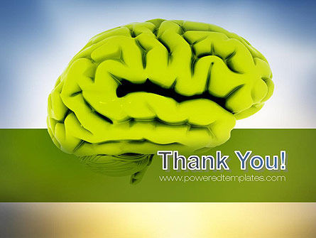 Cerebral Cortex PowerPoint Template Slide 20