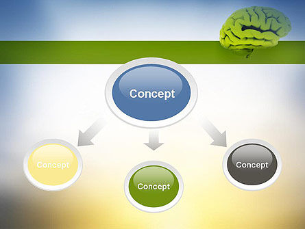 Cerebral Cortex PowerPoint Template Slide 4
