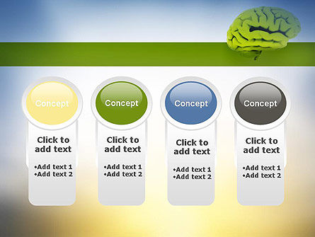 Cerebral Cortex PowerPoint Template Slide 5