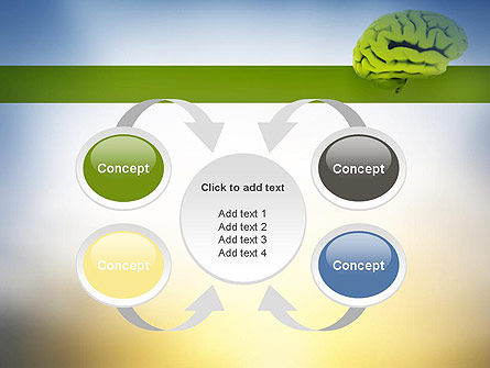 Cerebral Cortex PowerPoint Template Slide 6