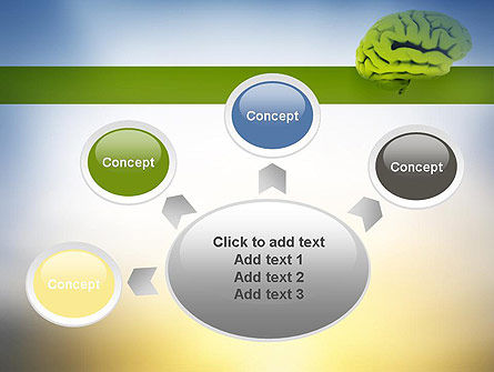 Cerebral Cortex PowerPoint Template Slide 7