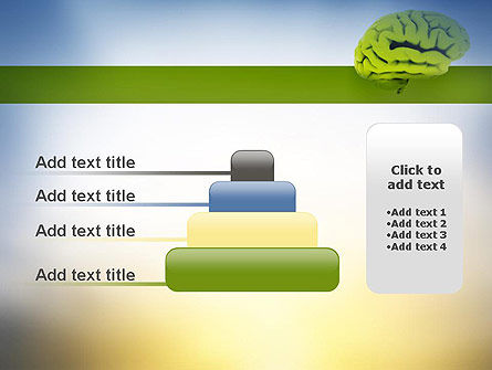 Cerebral Cortex PowerPoint Template Slide 8