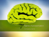 Medical: Cerebral Cortex PowerPoint Template #10815