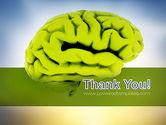 Cerebral Cortex PowerPoint Template#20