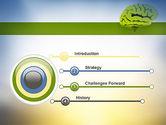 Cerebral Cortex PowerPoint Template#3