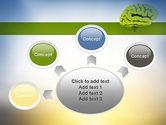 Cerebral Cortex PowerPoint Template#7