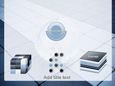 Glossy Transparent Globe PowerPoint Template#19