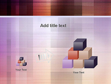 Abstract Squares PowerPoint Template Slide 13