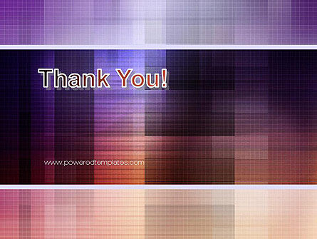 Abstract Squares PowerPoint Template Slide 20