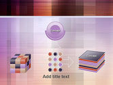 Abstract Squares PowerPoint Template#19