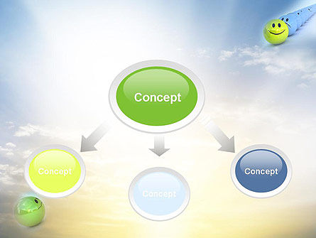 Just a Good Mood PowerPoint Template, Slide 4, 10821, Business Concepts — PoweredTemplate.com