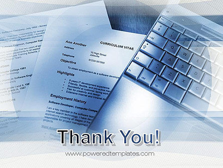CV Writing PowerPoint Template Slide 20