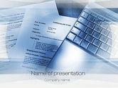 Education & Training: cv書き込み - PowerPointテンプレート #10823