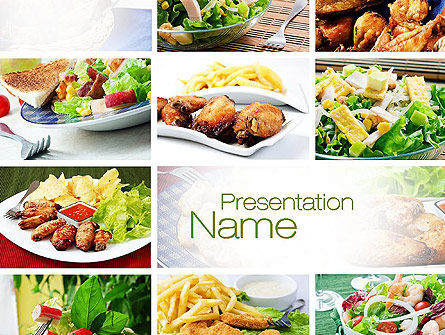 Recipes PowerPoint Template