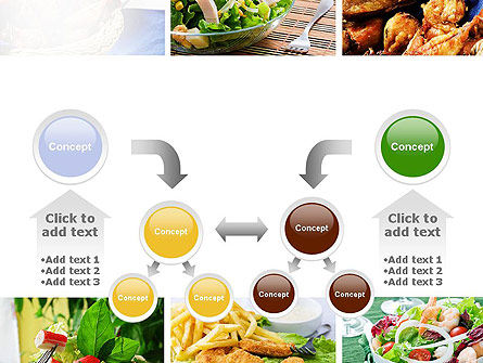 Recipes PowerPoint Template Slide 19
