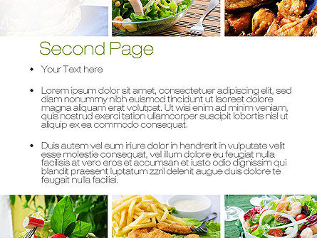 Recipes PowerPoint Template Slide 2