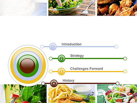 Recipes PowerPoint Template Slide 3