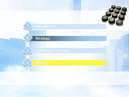 Telephone Number Buttons PowerPoint Template, Slide 3, 10826, Telecommunication — PoweredTemplate.com