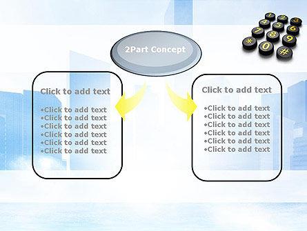 Telephone Number Buttons PowerPoint Template, Slide 4, 10826, Telecommunication — PoweredTemplate.com