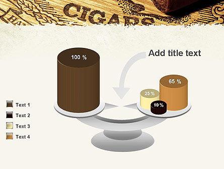 Cuban Cigars PowerPoint Template Slide 10