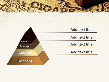 Cuban Cigars PowerPoint Template Slide 12