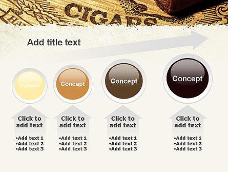 Cuban Cigars PowerPoint Template Slide 13