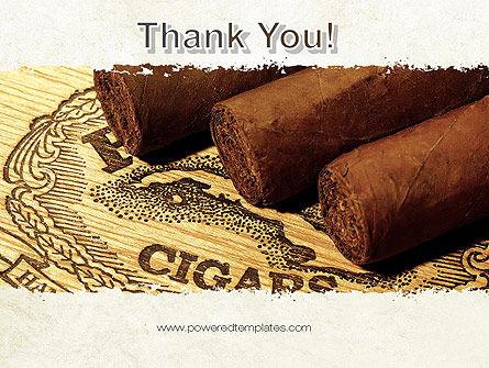 Cuban Cigars PowerPoint Template Slide 20