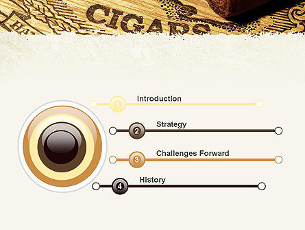 Cuban Cigars PowerPoint Template, Slide 3, 10828, Careers/Industry — PoweredTemplate.com