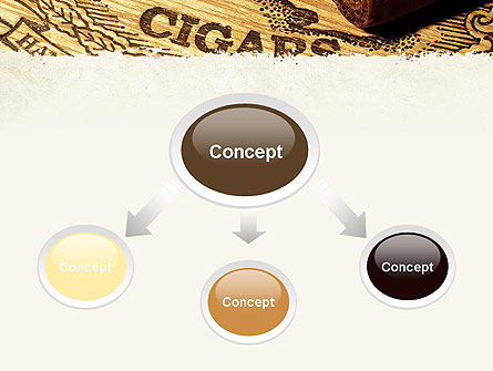 Cuban Cigars PowerPoint Template, Slide 4, 10828, Careers/Industry — PoweredTemplate.com