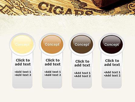 Cuban Cigars PowerPoint Template Slide 5